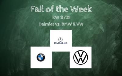 Daimler- mein Fehlschlag der Woche